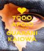 TODO APOIO AO POVO GUARANI KAIOWÁ - Personalised Poster A1 size