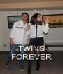 TWINS FOREVER - Personalised Poster A1 size