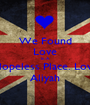 We Found Love In A Hopeless Place. Love Aliyah - Personalised Poster A1 size