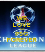 WE  LOVE  THE  PSG  FOREVER  - Personalised Poster A1 size