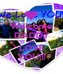 Welcome DADDY We LOVE YOU!!! - Personalised Poster A1 size