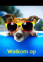 """Welkom op  de """"H"""" party !   - Personalised Poster A1 size"""