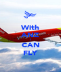 With ANZ I CAN FLY - Personalised Poster A1 size