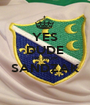 YES DUDE I'M FROM SANDZAK  - Personalised Poster A1 size