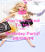 You're Invited To My 17th Birthday Party! 28/06/14 - Personalised Poster A1 size