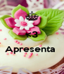 <3  Apresenta   - Personalised Poster A4 size