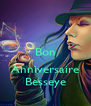 Bon  Anniversaire Besseye - Personalised Poster A4 size