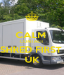CALM  CONTACT SHRED FIRST  UK - Personalised Poster A4 size