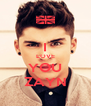 I LOVE YOU ZAYN - Personalised Poster A4 size