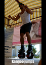 Kangoo jumps - Personalised Poster A4 size