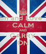 Keep Calm and Love Thembani CALM AND CARRY ON - Personalised Poster A4 size