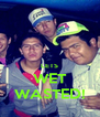 LETS WET WASTED! - Personalised Poster A4 size