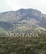 NIÑOS de la  MONTAÑA  - Personalised Poster A4 size
