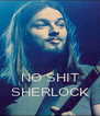 NO SHIT SHERLOCK - Personalised Poster A4 size