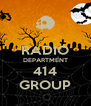 RADIO DEPARTMENT 414 GROUP - Personalised Poster A4 size