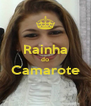 Rainha do Camarote  - Personalised Poster A4 size