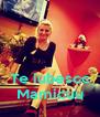 Te iubescc Mamicuu - Personalised Poster A4 size