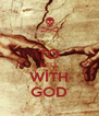 TO HELL WİTH GOD - Personalised Poster A4 size