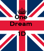 0ne  Dream   1D  - Personalised Poster A4 size