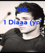 1 Diaaa (yn'    - Personalised Poster A4 size