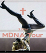 2 Días MDNA Tour  - Personalised Poster A4 size