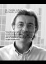 """#2 - Francisco Carballo Co-Founder and CEO InvesReal           """"Intentaremos lanzar siempre productos  excelentes para ofrecer a nuestros   inversores el máximo rendimiento  con el nivel más alto de garantías  en sus inversiones""""   - Personalised Poster A4 size"""