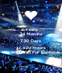 2 Years   24 Months 730 Days 17.520 Hours We Will Wait For Eunhyuk - Personalised Poster A4 size