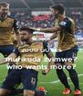 2000 GOALS murikuda zvimwe? who wants more? - Personalised Poster A4 size