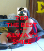 203 THE BEST ROOM ALWAYS SMILE - Personalised Poster A4 size