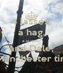 4 lasses, a hag, a queen, and Dale, = Manchester time - Personalised Poster A4 size