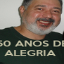 50 ANOS DE ALEGRIA  - Personalised Poster A4 size