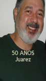 50 ANOS Juarez - Personalised Poster A4 size