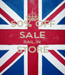 50% OFF SALE RAIL IN STORE  - Personalised Poster A4 size