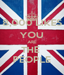 8,000 LIKES YOU ARE THE  PEOPLE - Personalised Poster A4 size