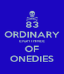 83 ORDINARY EIGHTHREE OF ONEDIES - Personalised Poster A4 size