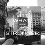 9/11 WHAT  MADE US STRONGER - Personalised Poster A4 size