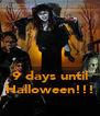 9 days until Halloween!!! - Personalised Poster A4 size