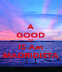 A GOOD GF IS Am MADRIDISTA - Personalised Poster A4 size