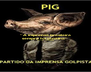 """A imprensa brasileira sempre foi canalha"" Millôr Fernandes   - Personalised Poster A4 size"