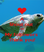 A Shout out  To My followers  Thank you! - Personalised Poster A4 size