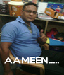 AAMEEN..... - Personalised Poster A4 size