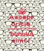 Accept  oricie  intrebare in limita bunului simt !  - Personalised Poster A4 size