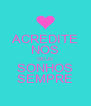 ACREDITE NOS SEUS SONHOS SEMPRE - Personalised Poster A4 size