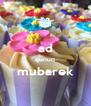 ad qunun mubarek  - Personalised Poster A4 size