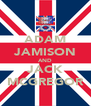 ADAM JAMISON AND JACK MCGREGOR - Personalised Poster A4 size