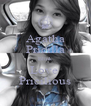 Agatha Pricilla Blink Love  Pricilious - Personalised Poster A4 size