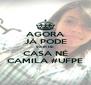 AGORA JÁ PODE SAIR DE CASA NÉ CAMILA #UFPE - Personalised Poster A4 size
