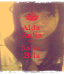 Alda  Aulia AND Salsa  Bila - Personalised Poster A4 size