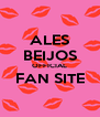 ALES BEIJOS OFFICIAL FAN SITE  - Personalised Poster A4 size