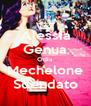 Alessia Genua Odia Mechelone Sdendato - Personalised Poster A4 size